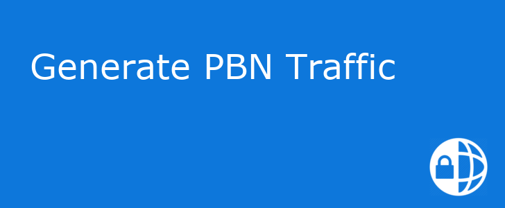 generate pbn traffic